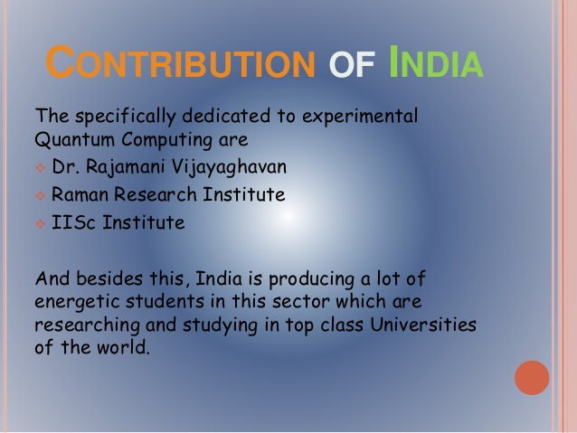 India Joins Quantum Information Sciences Race, with funding