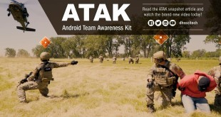 Military ATAK situational awareness tool serving Fire Fighters, law enforcement, and first-responder communities.